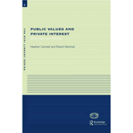 Public Values and Private Interests: Moral Action and Planning (BOK)