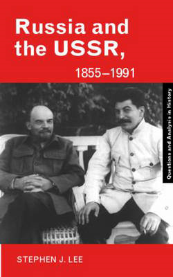 Russia and the USSR, 1855-1991 (BOK)