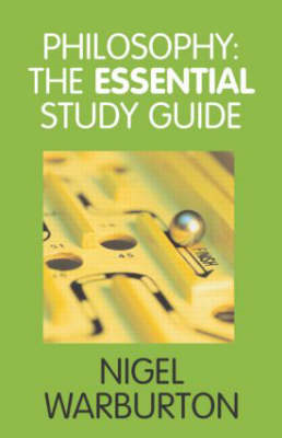 Philosophy: The Essential Study Guide (BOK)