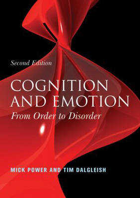 Cognition and Emotion: From Order to Disorder (BOK)