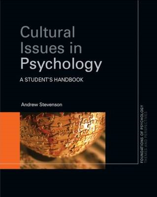 Cultural Issues in Psychology (BOK)