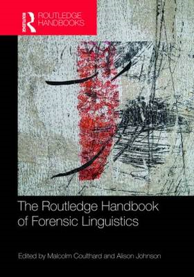 Routledge Handbook of Forensic Linguistics (BOK)