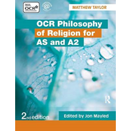 OCR Philosophy of Religion for AS and A2 (BOK)