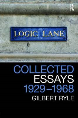 Collected Essays 1929 - 1968: Volume 2: Collected Papers (BOK)