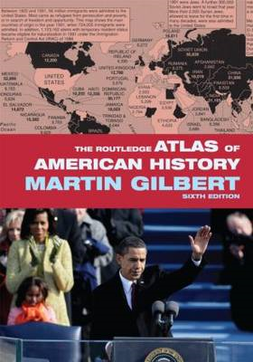 The Routledge Atlas of American History (BOK)