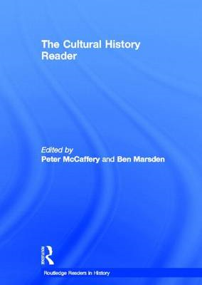 The Cultural History Reader (BOK)