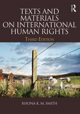 Texts and Materials on International Human Rights (BOK)