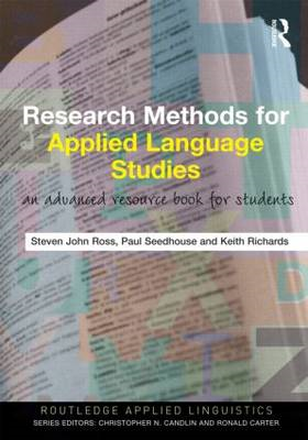 Research Methods for Applied Language Studies (BOK)