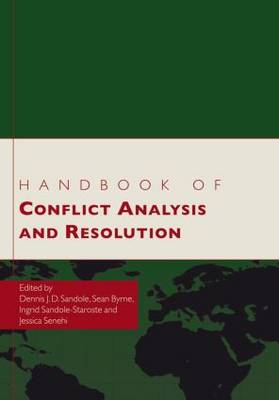 Handbook of Conflict Analysis and Resolution (BOK)