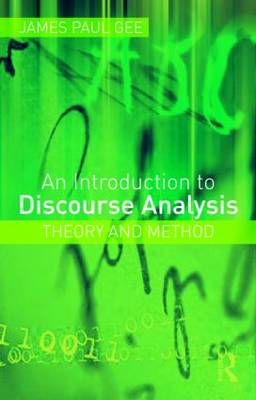 An Introduction to Discourse Analysis: Theory and Method (BOK)