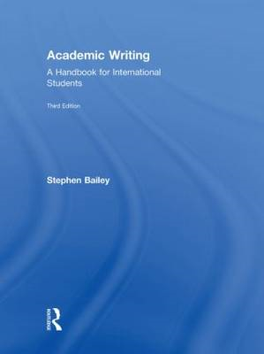 Academic Writing: A Handbook for International Students (BOK)
