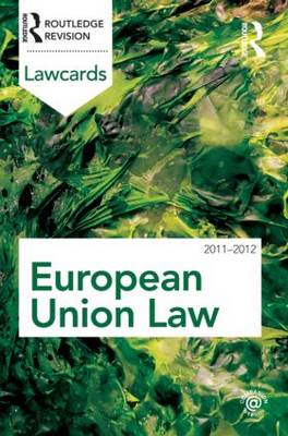 European Union Lawcards: 2011-2012 (BOK)