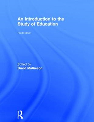 An Introduction to the Study of Education (BOK)