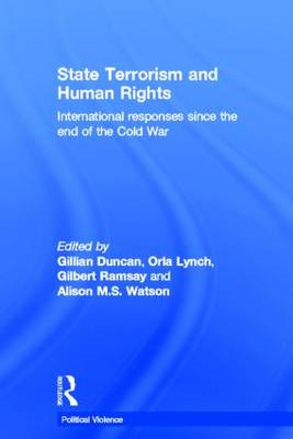State Terrorism and Human Rights: International Responses Since the End of the Cold War (BOK)