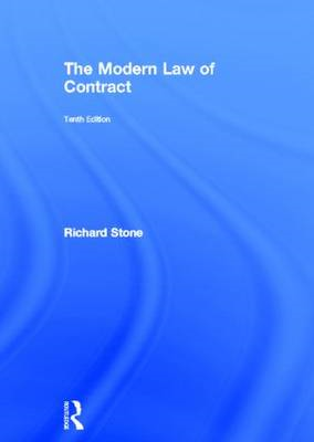 The Modern Law of Contract (BOK)