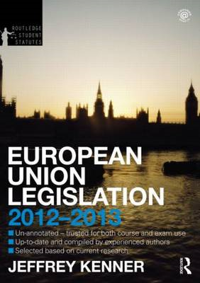 European Union Legislation 2012-2013 (BOK)