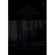 The English Legal System: 2013-2014 (BOK)
