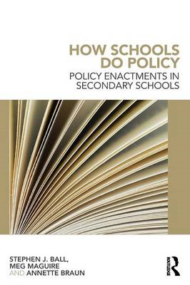 How Schools Do Policy (BOK)