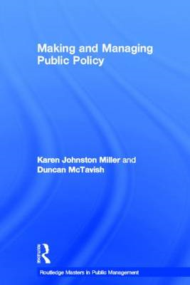 Making and Managing Public Policy (BOK)