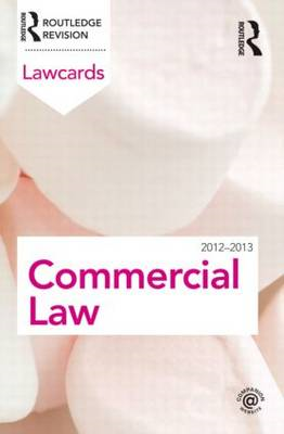 Commercial Lawcards 2012-2013 (BOK)