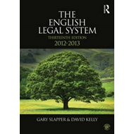 The English Legal System: 2012-2013 (BOK)
