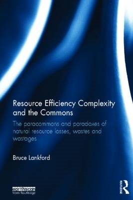 Resource Efficiency Complexity and the Commons: The Paracommons and Paradoxes of Natural Resource Lo (BOK)