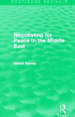 Negotiating for Peace in the Middle East (BOK)