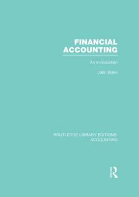 Financial Accounting: An Introduction (BOK)