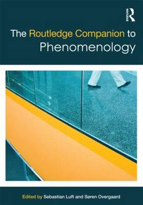 Routledge Companion to Phenomenology (BOK)