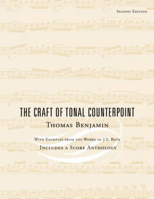 The Craft of Tonal Counterpoint (BOK)