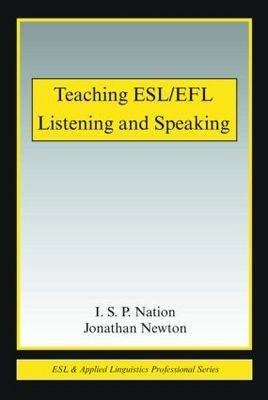 Teaching ESL/EFL Listening and Speaking (BOK)