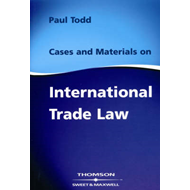 Cases & Materials on International Trade Law (BOK)