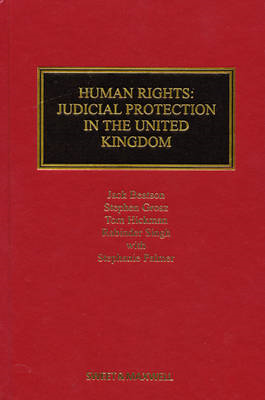 Human Rights: Judicial Protection in the United Kingdom (BOK)