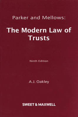 Parker and Mellows: The Modern Law of Trusts (BOK)