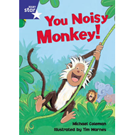 Star Shared: Reception, You Noisy Monkey Big Book (BOK)