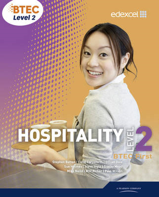 BTEC Level 2 First Hospitality Student Book (BOK)