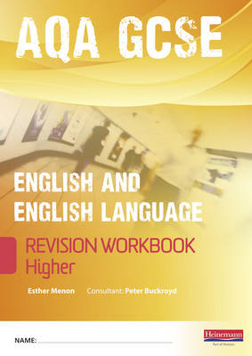 Revise GCSE AQA English/Language Workbook - Higher (BOK)