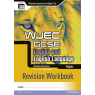 WJEC GCSE English and English Language Higher Revision Workb (BOK)
