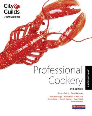 City & Guilds 7100 Diploma in Professional Cookery Level 2 C (BOK)