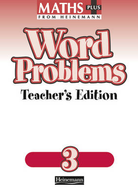Maths Plus Word Problems 3: Teacher's Book (BOK)