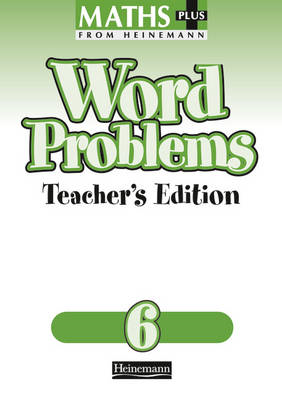 Maths Plus Word Problems 6: Teacher's Book (BOK)