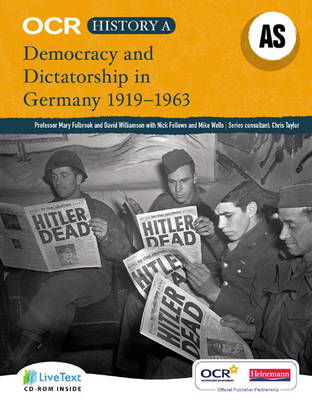 OCR A Level History A: Democracy and Dictatorship in Germany (BOK)