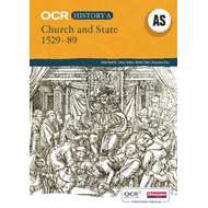 OCR A Level History A: Church and State, 1529-1589 (BOK)