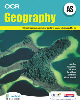 AS Geography for OCR Student Book with LiveText for Students (BOK)