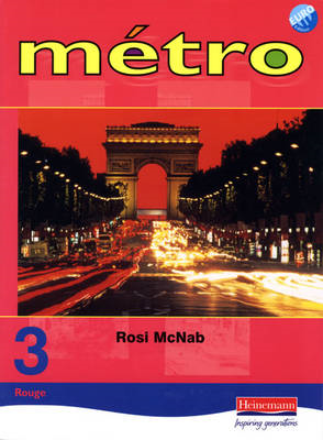 Metro 3 Rouge Pupil Book Euro Edition (BOK)