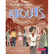 Atouts: AQA AS French Student Book and CDROM (BOK)