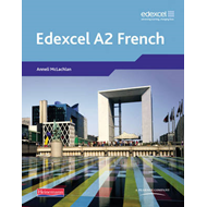 Edexcel A Level French (A2) Student Book and CDROM (BOK)