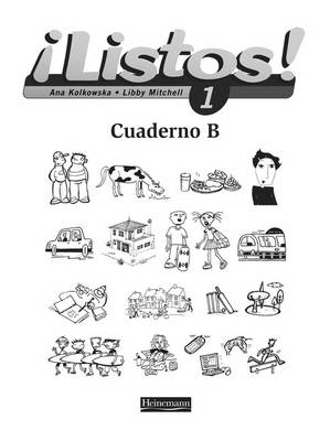 Listos! 1 Workbook B Pack of 8 (BOK)