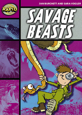 Rapid Stage 3 Set A Reader Pack: Savage Beasts (Series 1) (BOK)