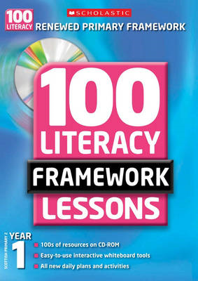 100 New Literacy Framework Lessons for Year 1 with CD-Rom (BOK)